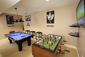 Sky Blue Vacation Condo, Myrtle Beach - Game Room Foosball Table